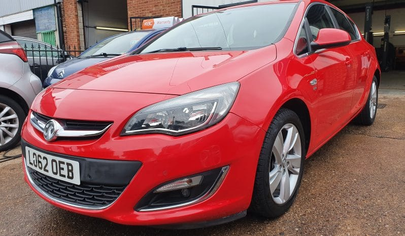 VAUXHALL ASTRA 1.6 SRI AUTOMATIC  <br><br><h4>**12 MONTHS RAC WARRANTY INCLUDED**</h4><br><h3 ><span style=